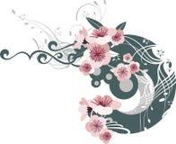 Exquisite floral design Stock Images