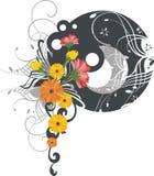 Exquisite floral design Stock Image