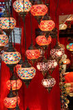 Exquisite glass lamps and lanterns Royalty Free Stock Photos