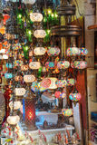 Exquisite glass lamps Royalty Free Stock Photos