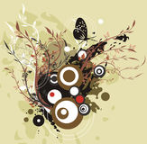 Exquisite illustration series Royalty Free Stock Photography
