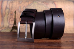 Exquisite leather belt Stock Images