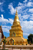Exquisite pagoda. Take from Chiangrai Province,North of thailand Stock Photos