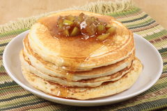 Exquisite pancakes Royalty Free Stock Images