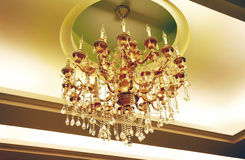 Exquisite pendant lamps Royalty Free Stock Images