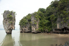 exquisite rock singapore, small island images Royalty Free Stock Photos