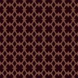 Exquisite seamless geometric pattern Royalty Free Stock Photos