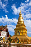 Exquisite stupa Stock Photo