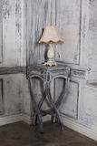 Exquisite style table lamp furniture in a Royalty Free Stock Images