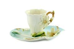 Exquisite tea-set Stock Photos