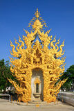 Exquisite thai stucco. Take from Chiangrai Province.design from imagine Royalty Free Stock Image
