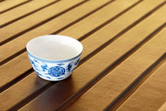 Traditional Chinese tea cup Stock Images