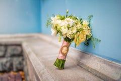 Exquisite wedding bouquet Royalty Free Stock Photos