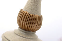 Exquisite workmanship of a Lamp bracket Stock Photos