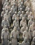 Exército do Terracotta Fotos de Stock