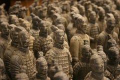 Exército dos guerreiros do Terracotta Fotografia de Stock