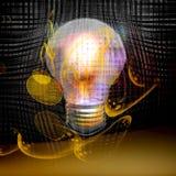 Exspansion energetico Immagine Stock