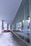Extérieur central et vestibule d'arts Image stock
