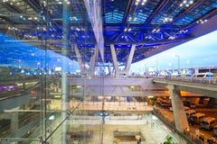 Extérieur d'aéroport de Bangkok Photos stock