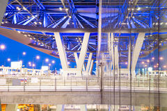 Extérieur d'aéroport de Bangkok Photographie stock