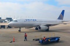 Extérieur d'aéroport de Chicago Image stock