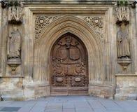 Extérieur d'abbaye de Bath Photographie stock libre de droits