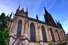 Extérieur d'Elisabethenkirche à Bâle Image libre de droits