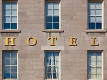 Extérieur d'hôtel Photos stock