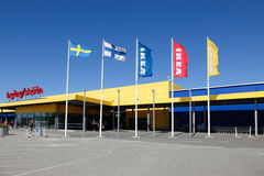 Extérieur d'Ikea Haparanda photo libre de droits
