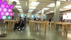 Extérieur d'un magasin de pomme