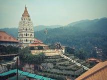 Extérieur d'une pagoda chinoise Images libres de droits