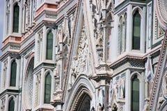 Extérieur de basilique de Santa Maria Novella Photo stock