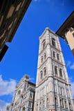 Extérieur de basilique de Santa Maria Novella Image libre de droits