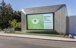 Extérieur de Berkeley Art Museum et des archives Pacifiques de film images stock