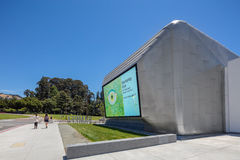 Extérieur de Berkeley Art Museum et des archives Pacifiques de film Photos stock