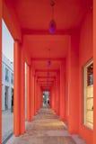 Extérieur de boutique de Fendi dans le Midtown Miami image libre de droits