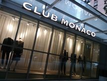 Extérieur de club Monaco image libre de droits