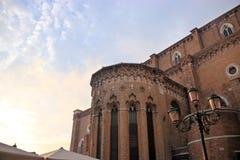 Extérieur de dell'Orio de San Giacomo Photos libres de droits