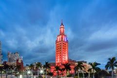 Extérieur de Freedom Tower dans le Midtown Miami Image stock