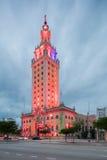 Extérieur de Freedom Tower dans le Midtown Miami Photos stock