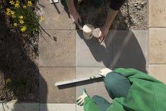 1 extérieur de jardinage Photographie stock libre de droits