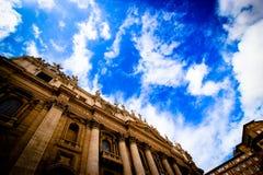 Extérieur de la basilique de St Peter Images libres de droits