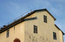 Extérieur de la construction d'usine Image libre de droits