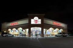 Extérieur de magasin de détail de Walgreens Image stock