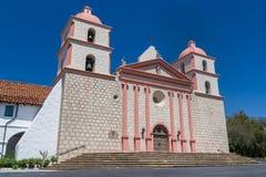 Extérieur de mission de Santa Barbara Image stock