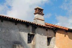 Extérieur de mission espagnole Photographie stock