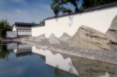 Extérieur de musée de Suzhou image libre de droits