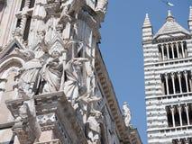 Extérieur de Siena Cathedral Images stock