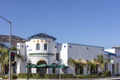 Extérieur de Starbucks dans Glendale la Californie photo stock