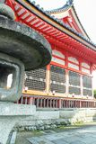Extérieur de temple de Kiyomizu-dera photos libres de droits